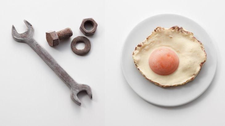 え!まじ?これ食べれるの⁉️目玉焼きに工具セット、絵具など本物そっくりのチョコレートが小田急百貨店新宿店に集結!