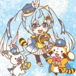 雪ミク×ラスカル2度目となるコラボ決定♪2月8日からココラボブースでコラボグッズ先行販売