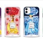 ディズニープリンセスのパフュームボトルモチーフスマホケースが登場♪auショップ、au Online Shopにて限定発売
