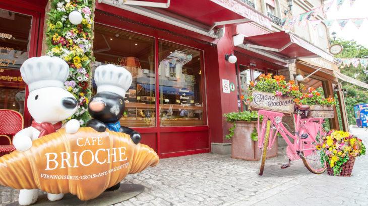 """パリの街並みをたくさんの花でデコレーション♪富士急ハイランド・リサとガスパール タウンにて4/18より""""フラワーフェスタ""""開催♪"""