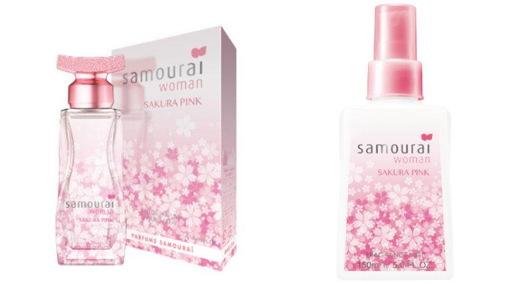 サムライウーマンの香りがプチプラで手に入る♪フレグランスミストシリーズにサクラピンクの香りが新登場☆