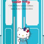 """韓国で人気のカフェ""""カフェ・ド・パリ""""が新宿ミロードにオープン!キティちゃんとのコラボメニューも販売中!"""
