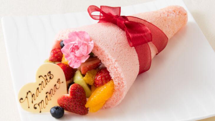 今年の母の日はケーキの花束を♡リーガロイヤルホテル東京にてフルーツブーケを期間限定で販売