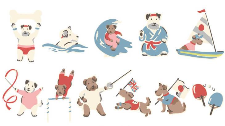 キャス キッドソンからスポーツをテーマにした特別なコレクション『SPORTY DOGS TOKYO』が発売♪