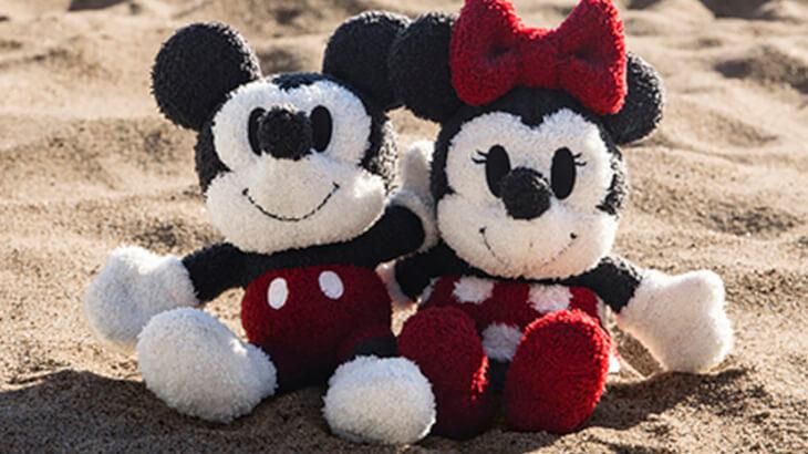 DISNEY COLLECTION by BAREFOOT DREAMSから新作クラシックミッキーマウス、ミニーマウスのぬいぐるみが登場!