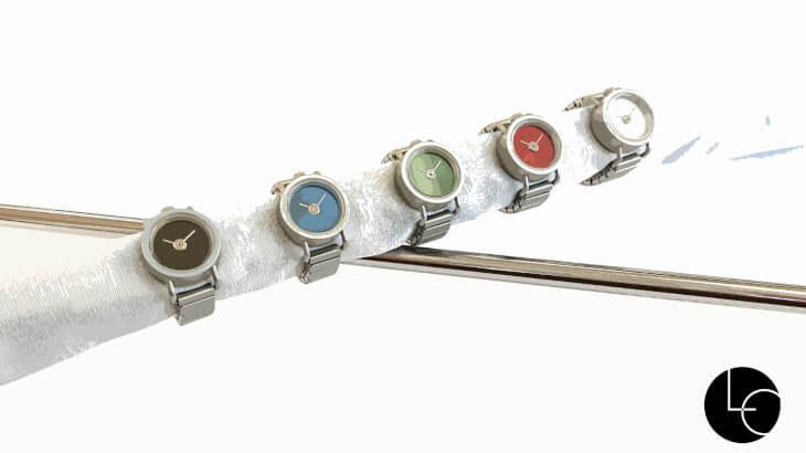 なんとな〜くの時間ならわかる!『リルサークル』から指輪サイズのスタイリッシュな時計コレクション販売スタート!