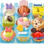 銀座コージーコーナーにてスポーツがモチーフとなったディズニーのプチケーキセットが発売♪