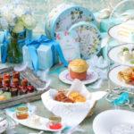 マリーアントワネットが愛したブルーの世界観をスイーツで表現♪ストリングス ラウンジにて夏のかわいいアフタヌーンティー提供スタート!