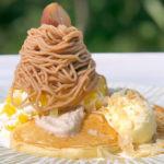 出来立てをその場で食べられる♪カフェ・カイラ渋谷・舞浜にて新商品『モンブランパンケーキ』が登場♡