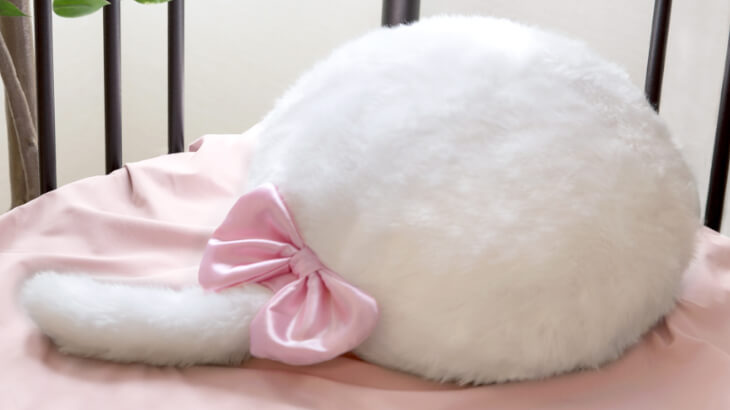 撫でて触って癒される♡クッション型セラピーロボット『Qoobo』のマリーちゃんデザイン登場♪