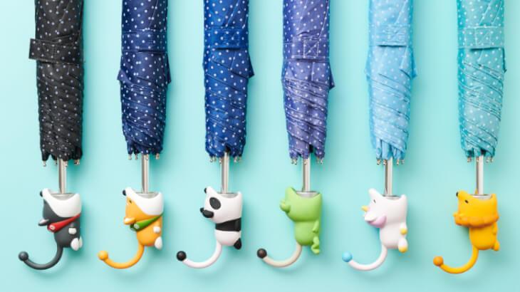 あなたの傘にガブッと噛みついちゃう!『アンブレラ バイト』をつけてお気に入りの折たたみ傘にしちゃおう♡