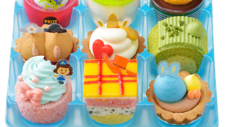 ウッディやダッキー&バニーがプチケーキに♪トイ・ストーリーの世界を表現したケーキコレクションがコージーコーナーにて発売