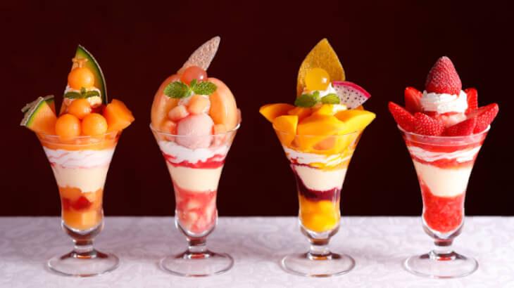 銀座本店サロン・ド・カフェにて毎年恒例の『2020真夏のパフェフェア』開催♪高級フルーツをふんだんに使った贅沢なパフェが登場♡