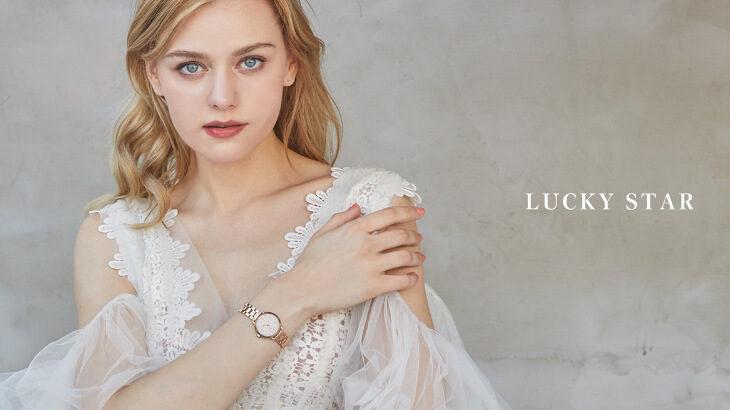 ラインストーンが腕でキラキラ輝くゴージャスな腕時計『LUCKY STAR』全国のHIROB店舗にて発売♪