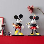 レゴ ディズニーシリーズにミッキーマウスとミニーマウスが登場♪レトロなデザインでインテリアにもぴったり♡
