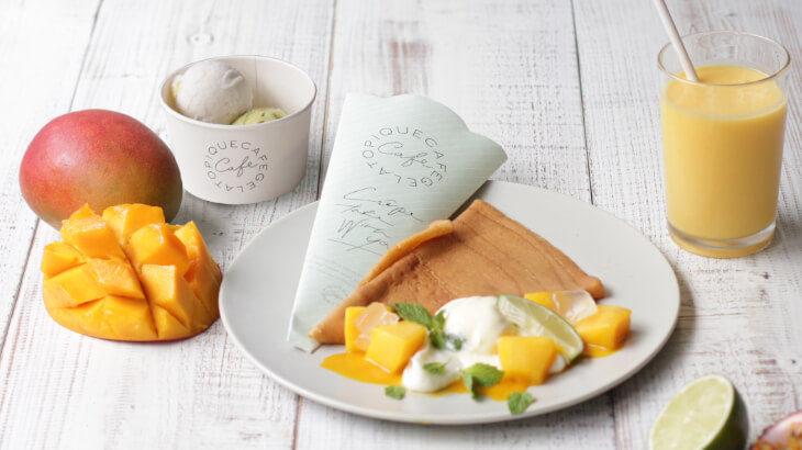 """ジェラート ピケ カフェにて夏を彩るマンゴーやパイナップルなどを使用した""""トロピカルサマースイーツ""""を販売!"""