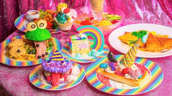 KAWAII MONSTER CAFE 5周年を記念した夏限定の新作ランチメニュー登場♡YouTuberのブリアナ・ギガンテさんとコラボドリンクも♪