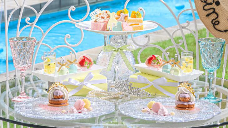 大阪 アートグレイス ウエディングコーストにて日程限定の『プリンセスアフタヌーンティー~マリーアントワネットのサマーティータイム~』開催♪