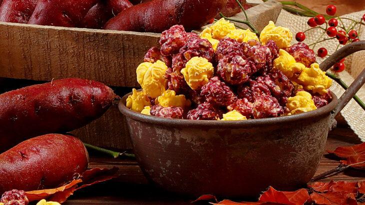 """ギャレットの期間限定新作レシピは、秋の味覚""""紫イモ""""の甘さが楽しめる『スイートポテト』"""