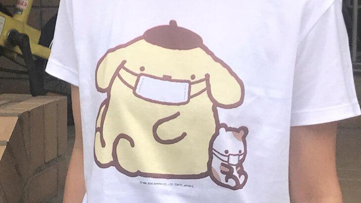 """マスクをつけたサンリオキャラクターズがかわいい""""元気でいこう!マスクデザイン""""のTシャツ、ステッカーなどが新登場!"""