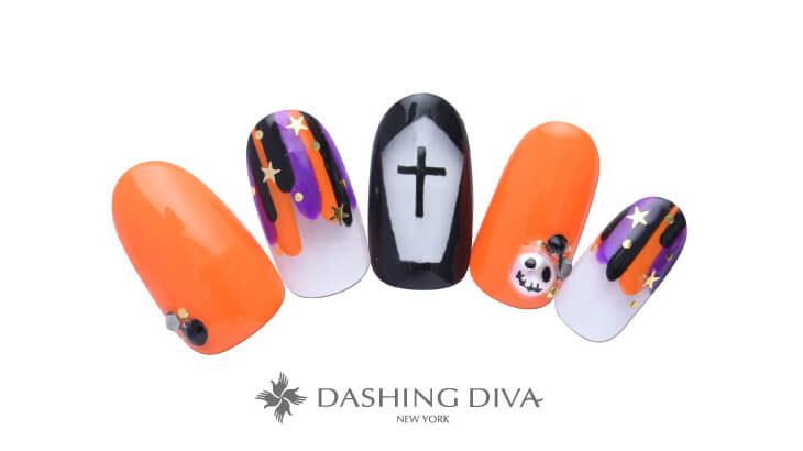ダッシングディバにハロウィンデザイン11種登場♪オレンジのハロウィンカラーやホラーなブラッディネイルもおすすめ♪