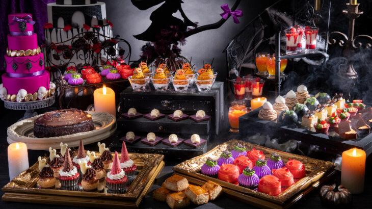 コンラッド東京、魔女の住むお城めぐりをテーマにした限定の『ハロウィン・スイーツビュッフェ』開催中♡