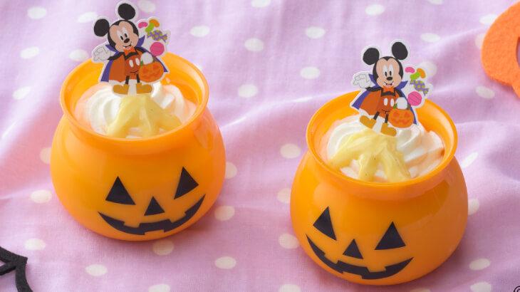 コージーコーナーにディズニーヴィランズとプリンセスがモチーフとなったハロウィンプチケーキが登場♪ ミッキーやミニーのカップがかわいいプリンも!