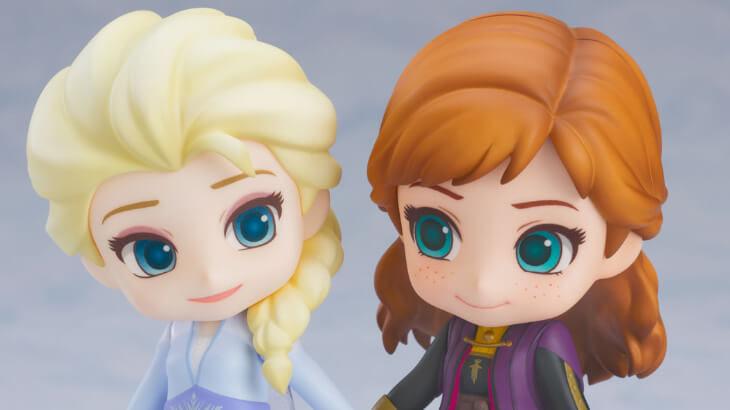 """大ヒット映画『アナと雪の女王2』より新衣装""""エルサ""""のねんどろいどが登場!アナと手を繋げるパーツ付き♪"""