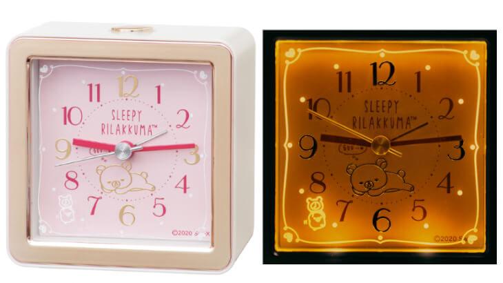 お子さんはもちろん大人の女性にもぴったり!上質な可愛らしさのリラックマ新作目ざまし時計発売