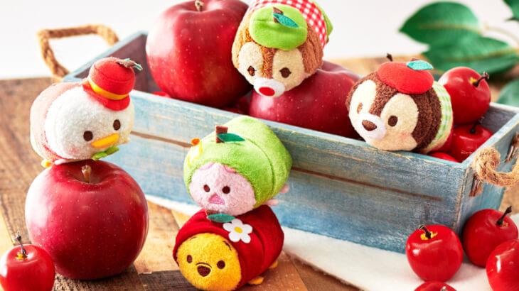 りんごをモチーフにした秋らしいアイテムが10/20よりディズニーストアに続々登場!