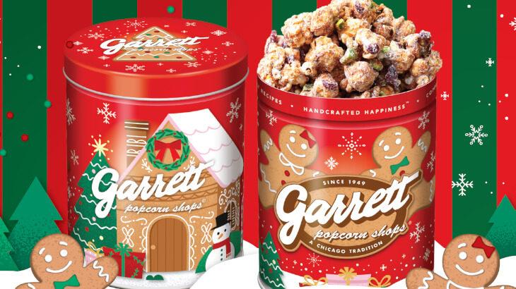 ギャレットの冬レシピ『スノーホワイト ピスタチオ』 11/2より登場♪クリスマスにぴったりのデザイン缶3種も同時発売♡