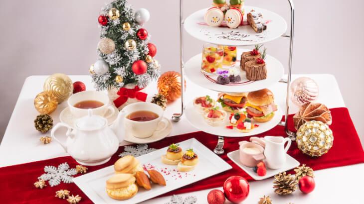 クリスマスをテーマにした冬の期間限定アフタヌーンティーをまとめてご紹介♪
