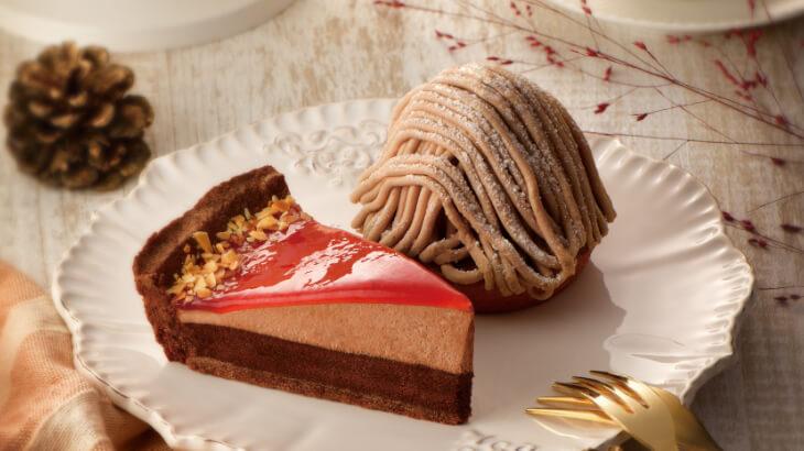カフェ・ド・クリエ『ホットミントショコラ』や『イタリア栗のモンブラン』など、これからの季節にぴったりな新メニューが登場!