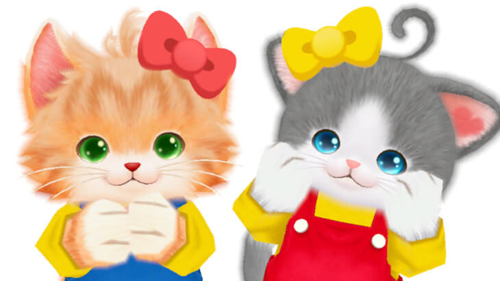 Nintendo Switchソフト『ネコ・トモ スマイルましまし』にて、キティや、仕事猫コラボが決定♪
