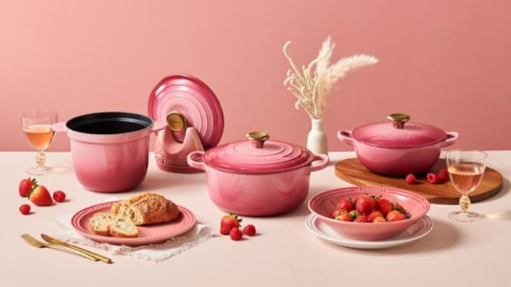 ル・クルーゼから、ホリデーシーズンを彩るベリーカラーのキッチンアイテムが限定発売♪