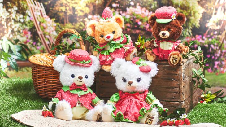 ディズニーストアに、華やかなピンクがカワイイいちごモチーフのグッズが続々登場♪