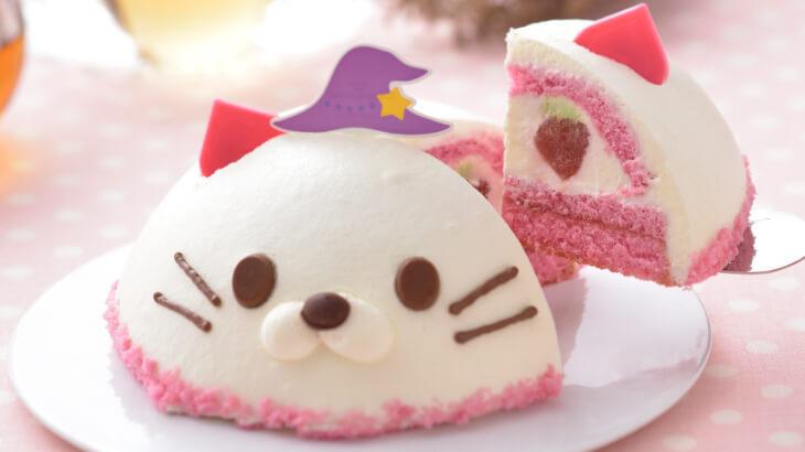 """銀座コージーコーナーから紅ほっぺを使用したスイーツや""""ネコの魔法つかい""""のケーキが登場♪"""