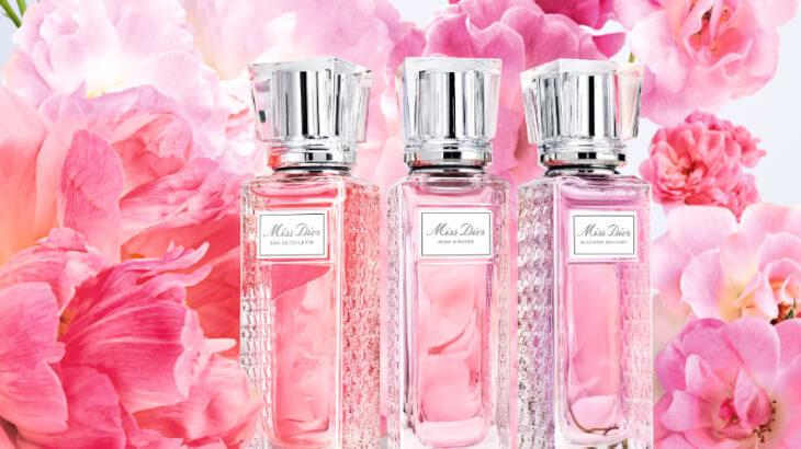 バラの花束のように香り立つ『ミス ディオール ローズ&ローズ』が 手軽なロールオンタイプに♪