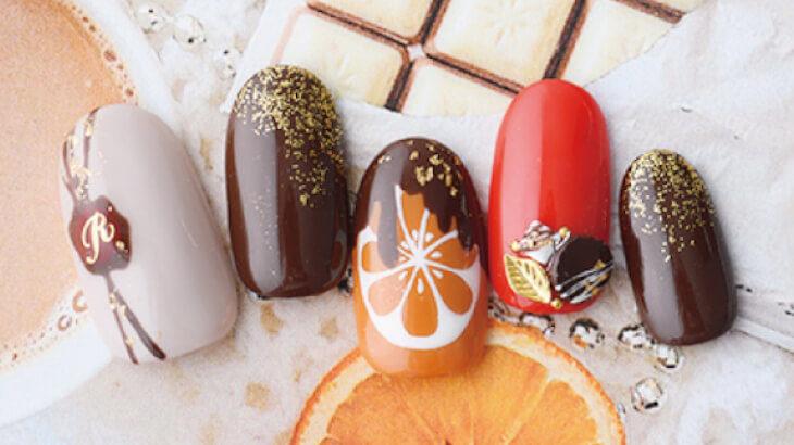 本物のチョコレートスイーツのようなネイルを楽しもう♪ダッシングディバのバレンタイン限定デザイン全12種類が展開