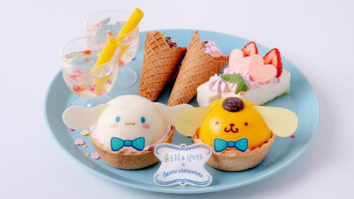 ポチャッコ・シナモン・ポムポムプリンの誕生日をお祝いするコラボカフェ『Sanrio Characters CAFE』が期間限定でOPEN♪
