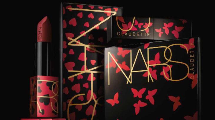 ハートやスターなどのデザインがかわいい♡NARSの『クローデットコレクション』2/5より数量限定販売スタート!