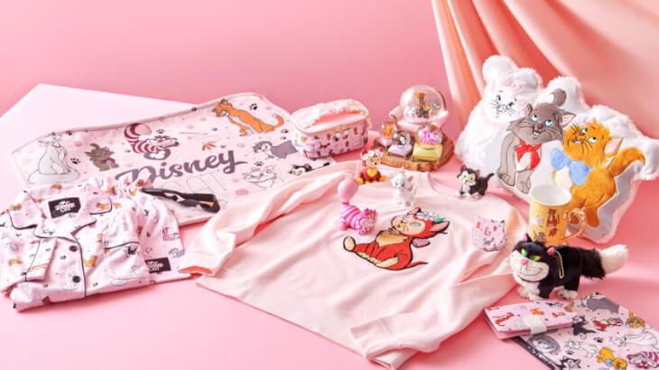 2月22日は猫の日&ディズニー マリーの日!ネコが大集合したアイテムがディズニーストアに登場♪