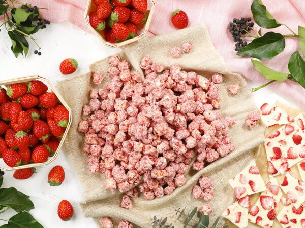 甘酸っぱいいちごがアクセントに♪ギャレット春限定レシピ『ベリーベリーホワイトチョコレート』発売