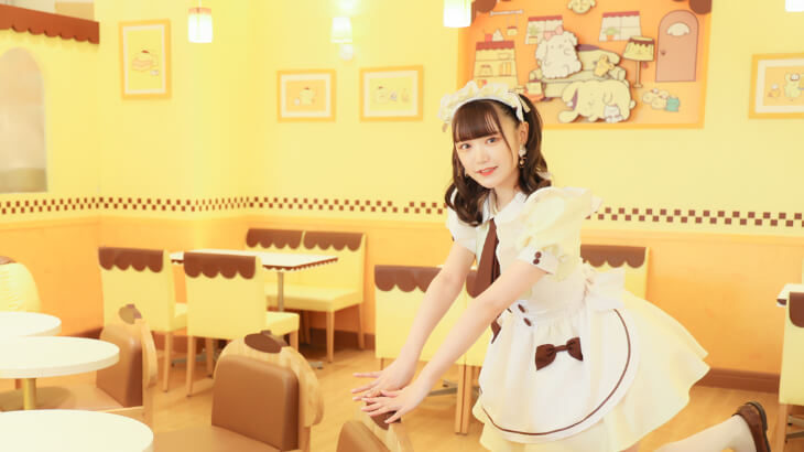 原宿のポムポムプリンカフェが4/14リニューアルオープン!『あっとほぉーむカフェ』とのコラボ常設店舗に!