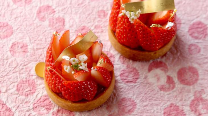 ジョエル・ロブション 旬の苺を使った春の期間限定苺スイーツ・パンを販売♡