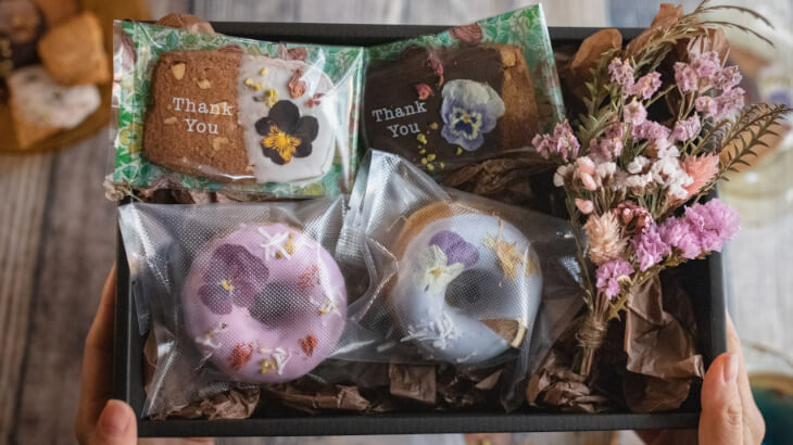 gmgmの『お花のクッキー』がリニューアル!ブーケも付いた『母の日ギフトセット』が予約受付開始
