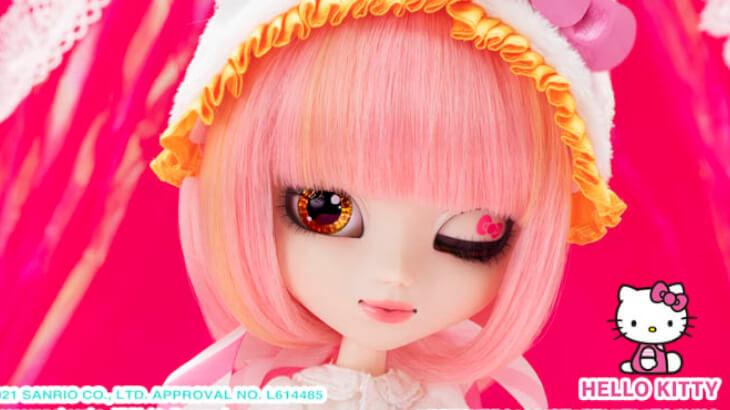 ファッションドール・プーリップからハローキティコラボモデルのアナザーデザイン『プーリップ/ Lollipop HelloKitty』が5月中旬発売
