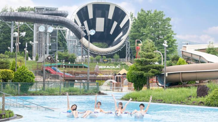 サマーランド屋外プールエリア『アドベンチャーラグーン』7/1より全面オープン!リゾート感あふれる新エリアも