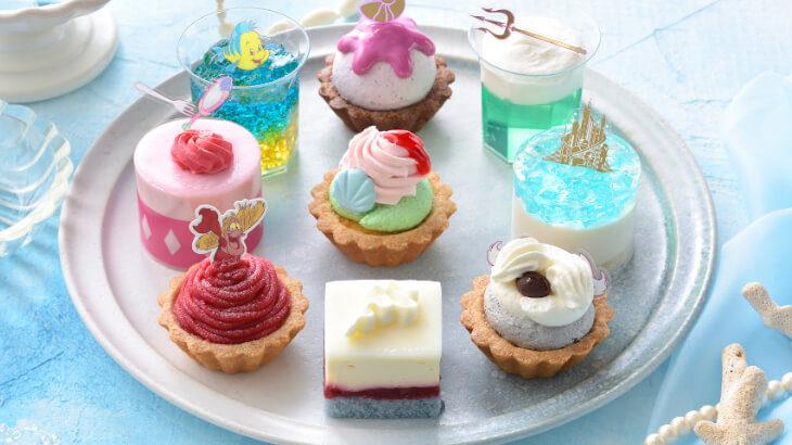 銀座コージーコーナー、ディズニーの『リトル・マーメイド』をモチーフとしたプチケーキ発売