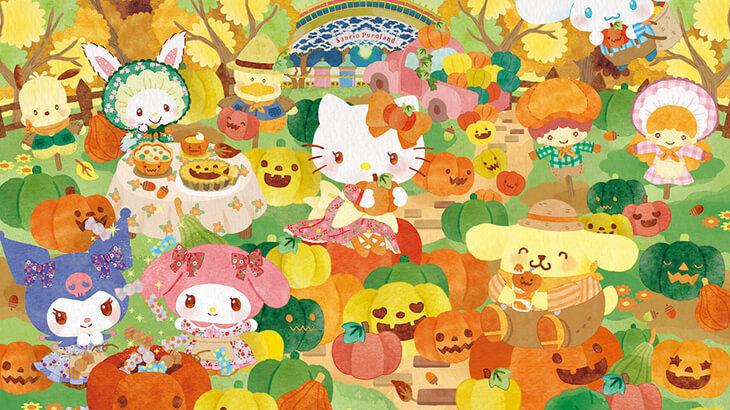 【9/10〜10/31】今年はパンプキンがテーマの明るいハロウィン♪スペシャルイベント『ピューロハロウィン』9/10よりスタート
